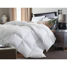 blue ridge white goose down and feather king comforter
