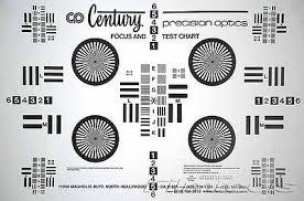 New Century Precision Optics Lens Chart Kit Large Small