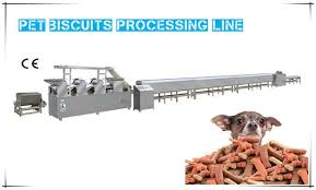 Pet Biscuit Processing Line Pet Treats Machine Dog Bone