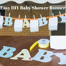 baby shower banners diy baby shower banner