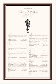 Grapes Chart Grapes And Berries Fruit And Vineyard Wedding Seating Chart