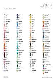 Swarovski Crystal Color Chart Actual Rhinestones Swarovski Crystal Bead Color Charts 2013 Eureka Crystal