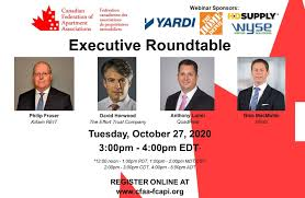 Register Today for CFAA's Executive Roundtable on Oct 27! - Canadian  Federation of Apartment Associations