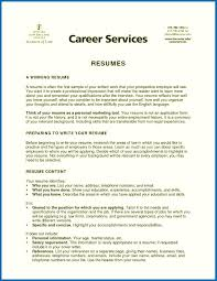 Sample Resume Objectives For College Students Save Objective For