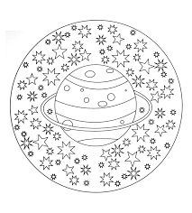 Printable drawings and coloring pages. Simple Mandala 19 Mandalas Coloring Pages For Kids To Print Color