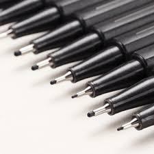 touchu lecai hand-painted waterproof <b>needle</b> gel <b>pen hook pencil</b> ...