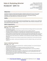 Sample Travel Management Resume Sales And Marketing Director Resume Samples Qwikresume