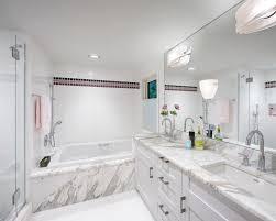 transitional bathroom ideas. Plain Bathroom BathroomBathroom Transitional Design Chrisicos Interiors Boston Ma White Bathrooms  Bathroom With Ideas