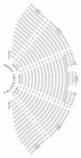 Caesars Palace Colosseum Seating Chart With Seat Numbers
