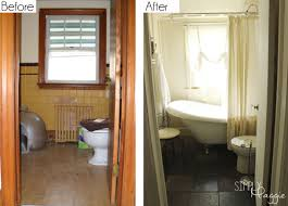Cottage Bathroom Renovation Before and After | SimplyMaggie.com