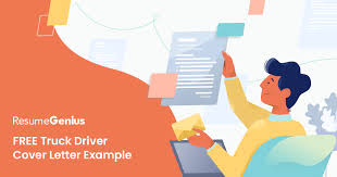 Driver Cover Letters Truck Driver Cover Letter Example Writing Tips Resume Genius