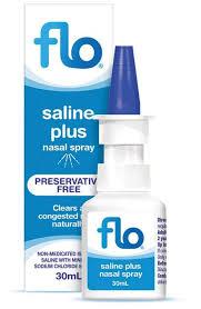 Compare prices for generic salinex substitutes: Flo Saline Plus Nasal Spray 30ml