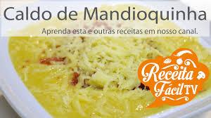 Resultado de imagem para IMAGENS DE RECEITAS COM MANDIOQUINHA