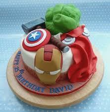 Avengers Birthday Cakes Birthdaycakeformomgq