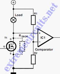 mosfet short circuit protection circuit wiring diagrams mosfet short circuit protection schematic