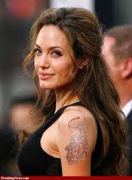 Angelina Jolie Tiger татуировка татуировки фото по Dagny2 загрузка