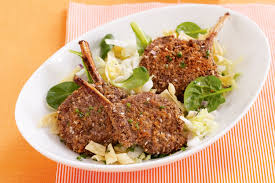 Baked Five Spice Lamb Cutlets