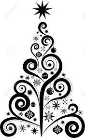baby nursery ~ Stunning Black And White Artificial Christmas Tree ...