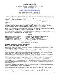 Paulo Campolina Resume - Sr RF Engineer 09182016. 1 Paulo Campolina  Address: 4718 Baton Rouge Blvd, Frisco, TX 75035 Phone: ...