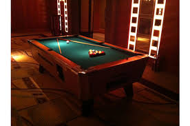 pool bar furniture. we carry full sized pool tables this is a deluxe bar weight table it comes complete with all accessories furniture r