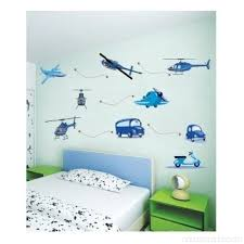 blue planes and cars removable vinyl