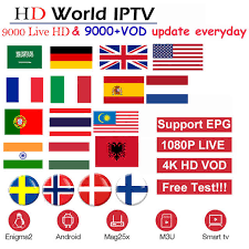 <b>HD World IPTV</b> +4000 Live 4500 VOD 4K <b>HD</b> Channel best for ...