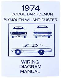 mopar a body duster parts literature multimedia literature 1974 mopar a body wiring diagram manual