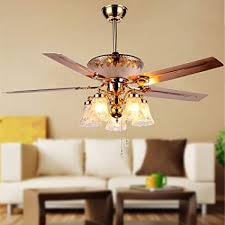 bedroom ceiling fans with remote control. Simple Control RainierLight Modern Crystal Ceiling Fan Remote Control 5 Reversible Blades  Frosted Glass Cover For Indoor To Bedroom Fans With O