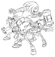 Small Picture Sonic Boom Coloring Pages Related Keywords Suggestions Sonic