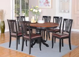 Oval Kitchen Table And Chairs Oval Kitchen Table Marceladickcom