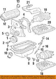 pontiac gm oem 92 94 bonneville engine parts drain plug 3921988 ebay gm parts warehouse at Gm Oem Parts Diagram