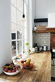 Old floor as your kitchen counter  Industrial Shelving DiyIndustrial Home  ...
