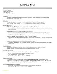 Free Registered Nurse Resume Templates With Resume Format For