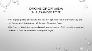 voltaire candide or optimism ppt origins of optimism 2 alexander pope