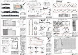 Курсовые и дипломные проекты промышленные здания скачать dwg  Дипломный проект Автоматно револьверный цех Челябинского тракторного завода