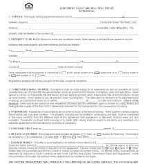 Sale Agreement Forms Free House Sale Contract Template