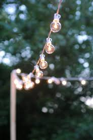 How To Hang Outdoor String Lights Magnificent How To Hang Outdoor String Lights The Deck Diaries Part 60
