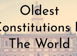 「the oldest written constitution」の画像検索結果