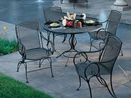 modesto wrought iron patio set to enlarge