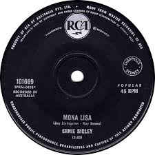 Australian Music Charts 1966 45cat Ernie Sigley Think About Me Mona Lisa Rca