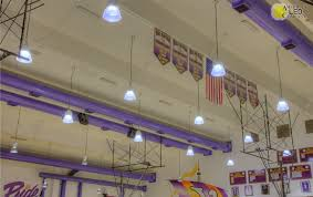 an overview of the main gym ilrates that even though these lights use less than half of the wattage used in the original metal halide lights
