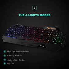 Led Light Keyboard Havit Gaming Keyboard Mouse Combo Led Keyboard Mouse Combo Led Keyboard Modelhv Kb558cm Black