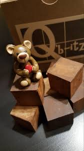 Miniature Tiny Valentines Day Heart Teddy Bear Handcrafted Mini Perfect for  Q'b-itz