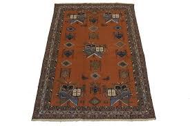 nice hand woven tribal sumak persian wool area rug oriental home carpet 4 x6 5