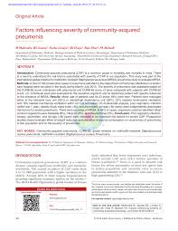 Respiratory viral infection predisposing for bacterial ...