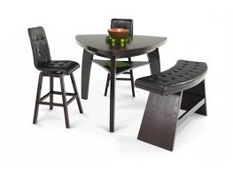 Boomerang 4 Piece Bar Stool & Bench Set
