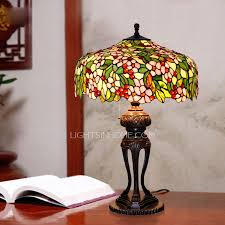vintage flower pattern stained glass light fixtures
