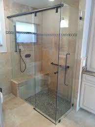 basco frameless sliding shower doors and frameless bypass sliding shower doors