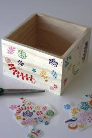 How To Decorate Wood Boxes DIY Decorative Wooden Box for Easter Catch My Party 2