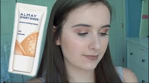 almay smart shade makeup review demo wear test